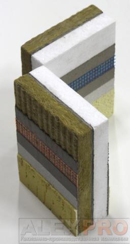 компактные образцы системы теплоизоляции